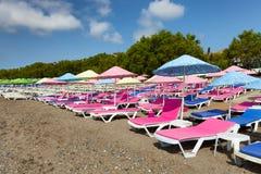 Colorfun beach Royalty Free Stock Image