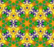 Colorfur abstrato da arte vibrante Imagens de Stock