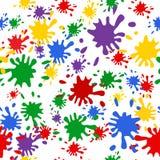 Colorgul blob pattern Stock Image