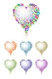 colorheart 向量例证