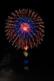 Colori 4 dei fuochi d'artificio Fotografie Stock Libere da Diritti