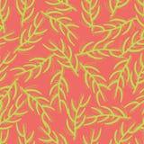 Colori al neon floreali esotici del fondo senza cuciture illustrazione vettoriale
