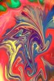 Colori astratti Fotografia Stock Libera da Diritti