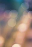 Colori astratti Fotografia Stock