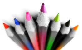 Colori in bianco e nero Immagini Stock