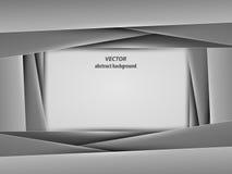 Colori in bianco e nero del modello della disposizione di concetto, stile di carta di arte Illustrazione Immagini Stock