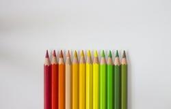 Colori caldi Fotografia Stock