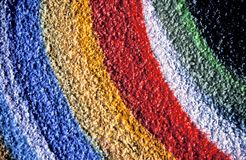 Colori dei graffiti Fotografia Stock Libera da Diritti