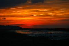 Colori del cielo Fotografia Stock