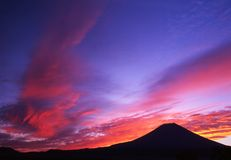 Colori del cielo II di mattina Immagini Stock