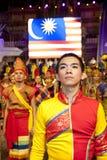 Colori del festival 2010 della Malesia Fotografia Stock