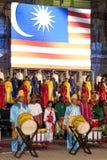 Colori del festival 2010 della Malesia Fotografie Stock Libere da Diritti
