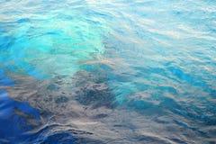 Colori del fondo del mare ionico fotografia stock