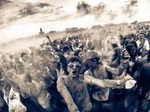 Colori del mondo (versione di apocalisse dello zombie) Fotografia Stock