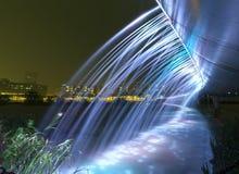 Colori del ponte della fontana bei Fotografie Stock