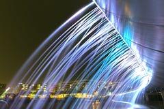 Colori del ponte della fontana bei Fotografia Stock