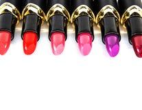 Colori del rossetto Fotografia Stock Libera da Diritti