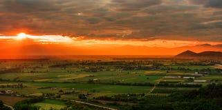 Colori del tramonto immagini stock libere da diritti
