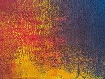 Colori dell'arancia e dei blu navy del fondo di astrattismo Fotografia Stock Libera da Diritti