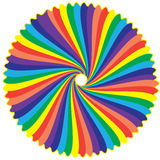 Colori dell'arcobaleno Fotografia Stock Libera da Diritti