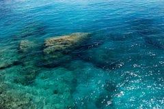 Colori dell'oceano Immagini Stock Libere da Diritti