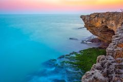 Colori dell'oceano fotografie stock