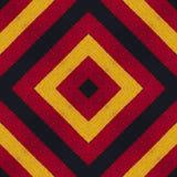 Colori della bandiera della Germania Crochet ha tricottato il fondo di stile, vista superiore illustrazione di stock