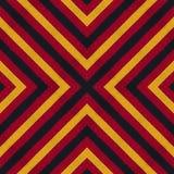 Colori della bandiera della Germania Crochet ha tricottato il fondo di stile, vista superiore illustrazione vettoriale