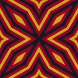 Colori della bandiera della Germania Crochet ha tricottato il fondo di stile, vista superiore Collage con la riflessione di specc royalty illustrazione gratis