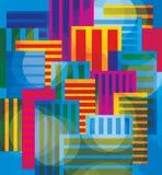 colori della città illustrazione di stock