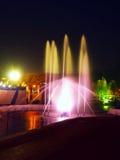 Colori della fontana Immagini Stock Libere da Diritti