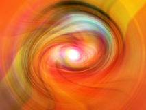 Colori della galassia Fotografie Stock