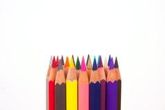 Colori della matita Immagine Stock