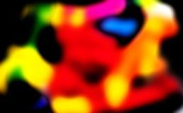 Colori della mente umana di dipinto dell'estratto di serie di atteggiamenti Fotografie Stock Libere da Diritti