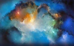 Colori della nebulosa illustrazione di stock