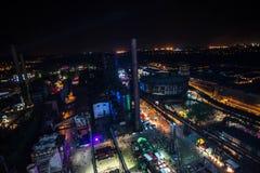 Colori della notte del fest di Ostrava Fotografie Stock