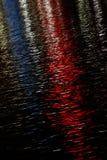Colori di acqua - colore rosso, bianco ed azzurro Immagini Stock Libere da Diritti