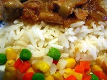 Colori di alimento cinese Fotografia Stock Libera da Diritti