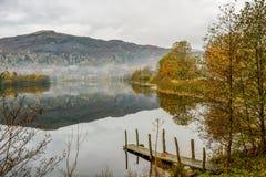 Colori di autunno a Grasmere Fotografia Stock