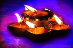 Colori di Diwali Fotografia Stock Libera da Diritti