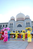 Colori di Fest della flora della chiamata Malesia 2007 di armonia Immagine Stock