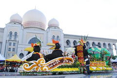 Colori di Fest della flora della chiamata Malesia 2007 di armonia Immagine Stock Libera da Diritti