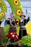 Colori di Fest della flora della chiamata Malesia 2007 di armonia Fotografia Stock