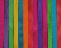Colori di legno Immagine Stock