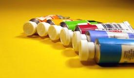 Colori di olio 1 Fotografie Stock Libere da Diritti