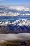 Colori di Otago, antenna, Nuova Zelanda Immagine Stock Libera da Diritti