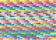 Colori di Pantone Fotografia Stock Libera da Diritti