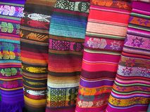 Colori di Santa Fe Immagine Stock