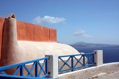 Colori di Santorini Fotografia Stock Libera da Diritti