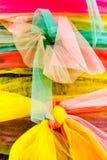 Colori di tessuto di seta Fotografia Stock Libera da Diritti